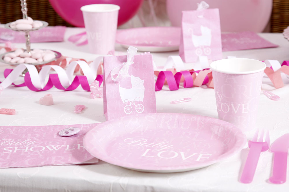 Babyparty deko kleid - Baby shower party ideen ...